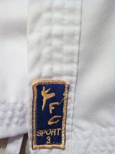 Kimono Talla 3 Marca Fc Sport