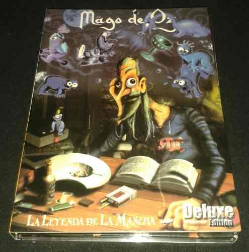 Mago De Oz La Leyenda De La Mancha Deluxe Edition 2cds/1dvd
