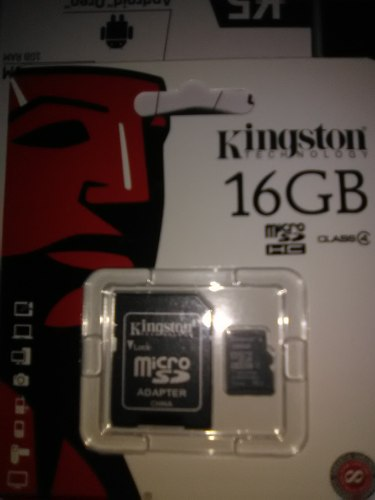 Memoria Kingston Micro Sd 16gb Sdhc