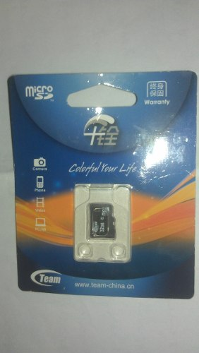 Memoria Micro Sd 32gb Team Group Clase 10