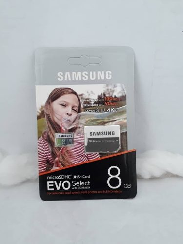 Memoria Micro Sd Samsung 8 Gb Clase 10