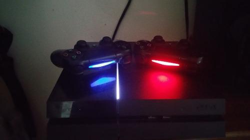 Playstation 4 Con 2 Controles Y 3 Juegos Tops! Los Mejores