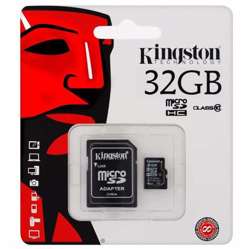 Tarjeta De Memoria Micro Sd 32gb Ideal Para Telefonos Camara