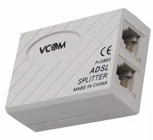 2 Unidad Filtro Adsl Para Linea Telefonica Internet Y Punto