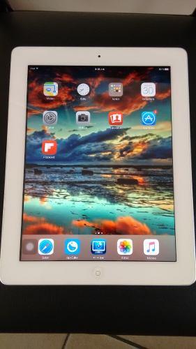 Apple Ipad 4 16gb Solo Wifi A Caja Carg Cable Usb