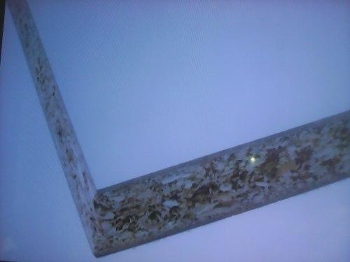 Mdp De 12mm Forrada Con Formica Brillante Blanca 2,00 X 1,00
