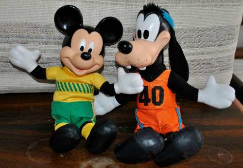 Muñecos De Disney Originales Colección De Mc Donalds
