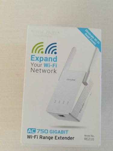 Repetidor Extensor De Señal Wifi Tp-link 750 Gigabit