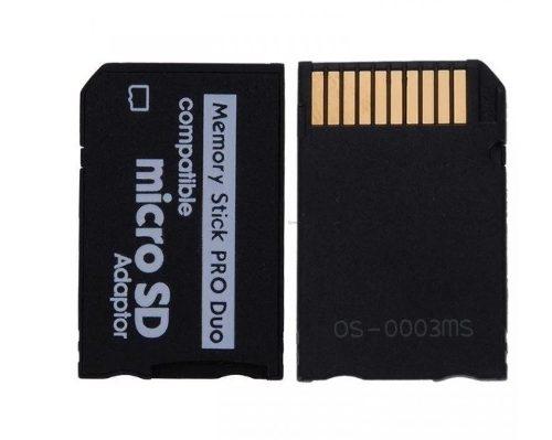 Adaptador Micro Sd A Memory Stick Pro Duo Psp Camaras Sony
