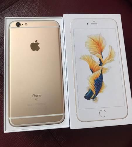 Apple Iphone 6s De 64gb Dorado / Nuevos Con Garantia! /