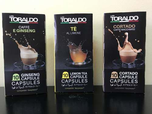 Capsulas De Cafe Toraldo Nespresso