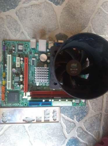 Combo G41 Ddr3 Con Procesador Dual Core Y 2gb Ram Ddr3