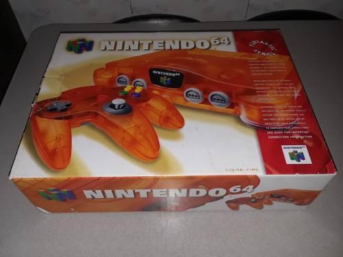 Nintendo 64 Como Nuevo Con Su Caja