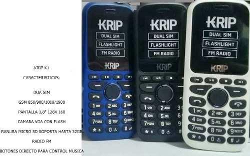 Telefono Celular Basico Liberado Doble Chip