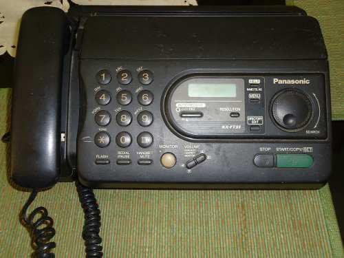 Telefono Fax Panasonic Usado Kx-ft33la