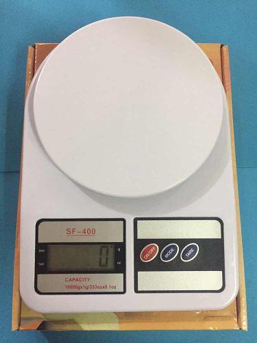Balanza O Peso De 10 Kg, Electrónico Digital Incluye Pilas