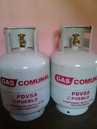 Bombona De Gas Comunal Pequeña De 10kg Llena Lista Para