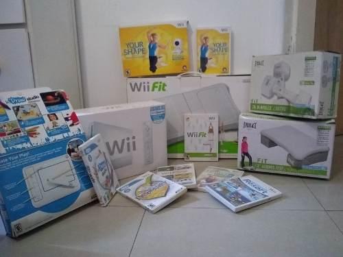 Consola Wii Usado Con Accesorios Y Juegos Originales