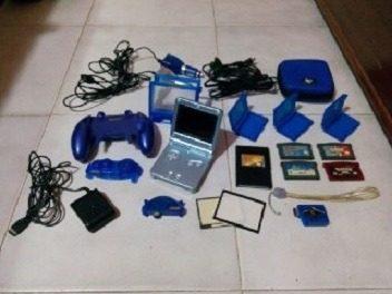 Game Boy Advance Sp Con Accesorios