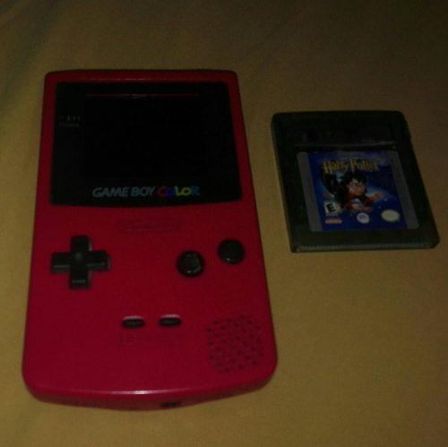Game Boy Color Con Un Juego
