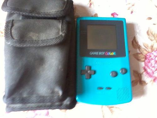 Game Boy Color (con Detalle) + Estuche De Regalo Y Un Juego