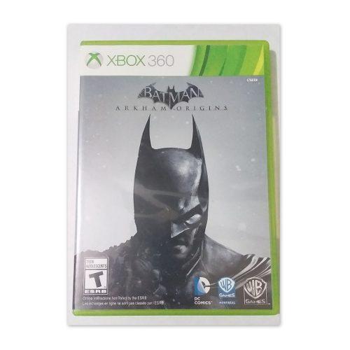 Juego Batman Origins Para Xbox 360 Original Como Nuevo