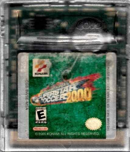 Juego De Game Boy Super Star Soccer