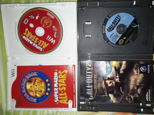 Juego De Wii Y Gamecube Originales De Mario Bror