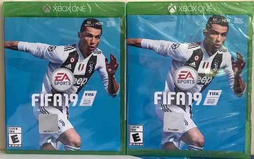 Juego Fifa 19 Xbox One Nuevo. Tienda Física Mundogames