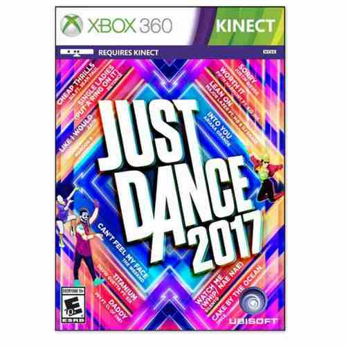 Juego Just Dance 17 Para Xbox 360 Totalmente Original
