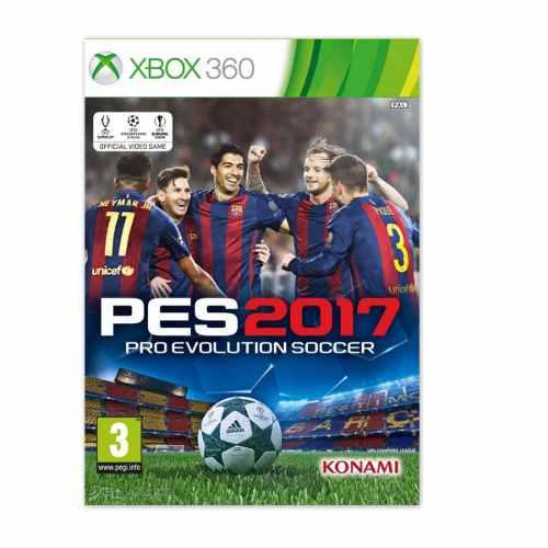Juego Pes 17 Para Xbox 360 Totalmente Original