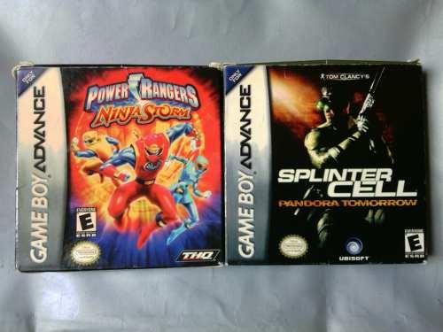 Juegos De Gameboy Advance (leer Descripción)