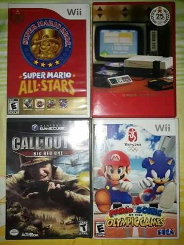 Juegos De Wii Original Y De Nintendo Gamecube Original