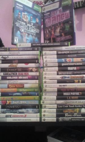 Juegos Xbox 360 Y Accesorios 37 Juegos Originales Por Play 4