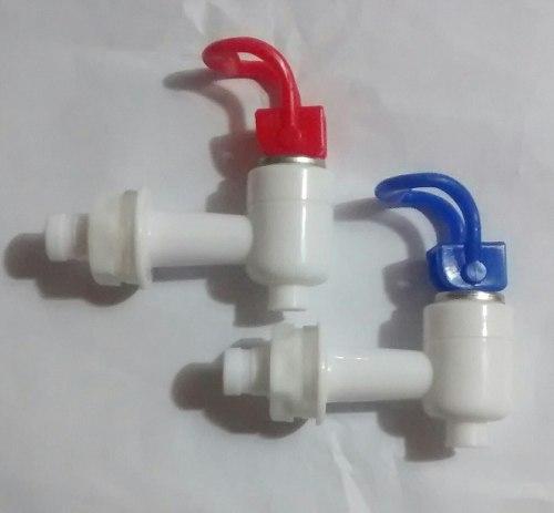 Llave Plástica Para Filtro O Dispensador De Agua (el Par)