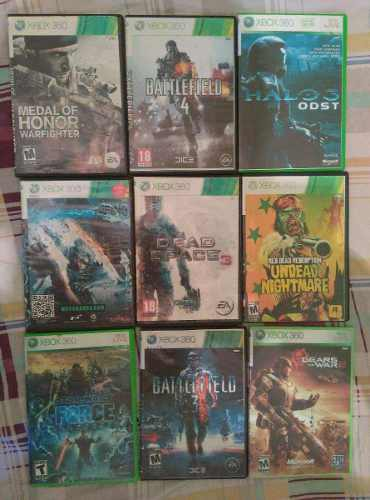 Lote De 29 Juegos Para Xbox 360 Con Lt 3.0 Como Nuevos