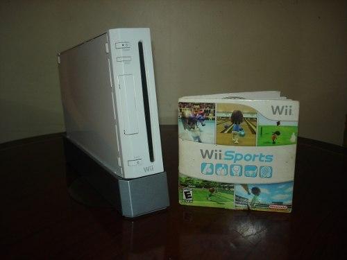 Nintendo Wii Blanco Con Accesorios