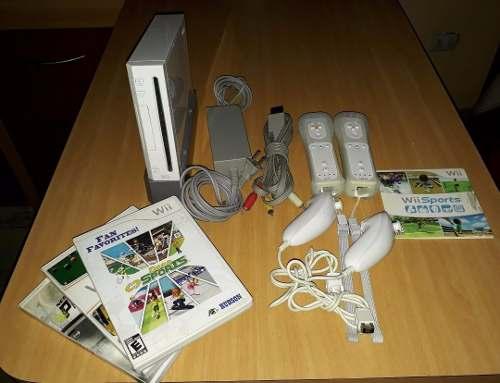 Nintendo Wii Con Accesorios