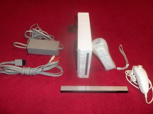 Nintendo Wii Con El Mas Completo Chip  Juegos