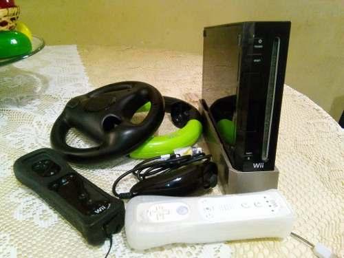 Nintendo Wii Negro Sin Chipear + 48 Juegos En Maracaibo