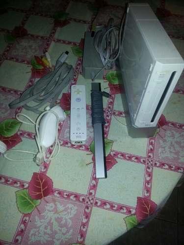 Nintendo Wii Original Con Sus Accesorios