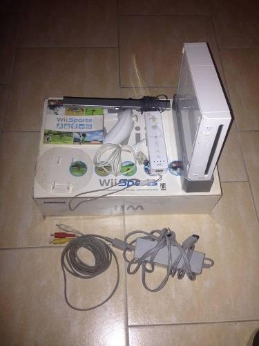 Nintendo Wii Original Sin Chipear (cambio Por Telefono)