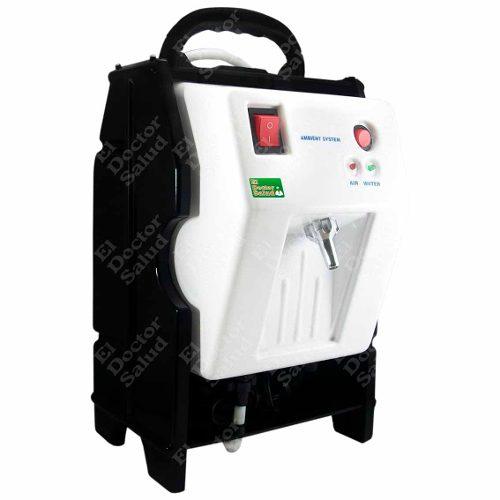 Planta Ozono Ambient Portatil Bl+ Filtro Agua Compacto + Kit