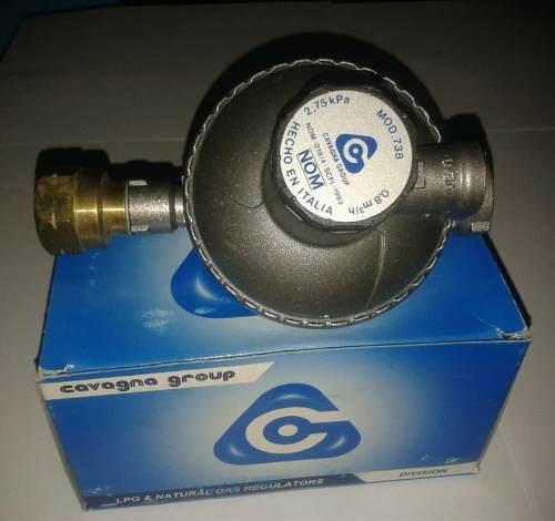 Regulador Para Gas Glp Y Gas Natural R3b Italiano Mod 738