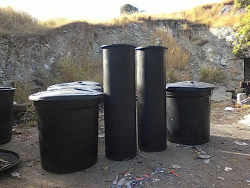 Tanque De Agua Cilíndrico 550 Y  Litros