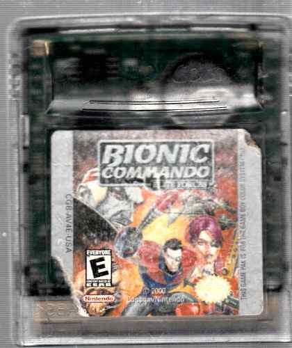 Video Juego De Game Boy Bionic Commando