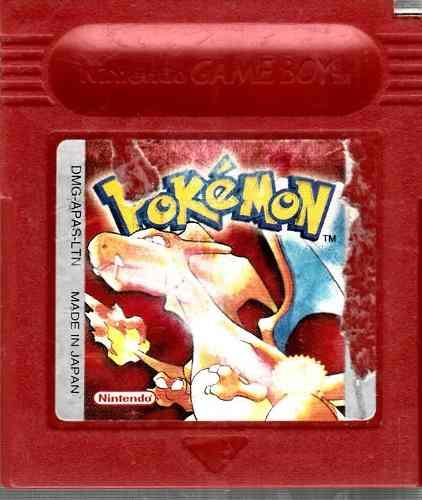 Video Juego De Game Boy Pokemon Red Edicion Español