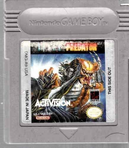 Video Juego De Game Boy Predator