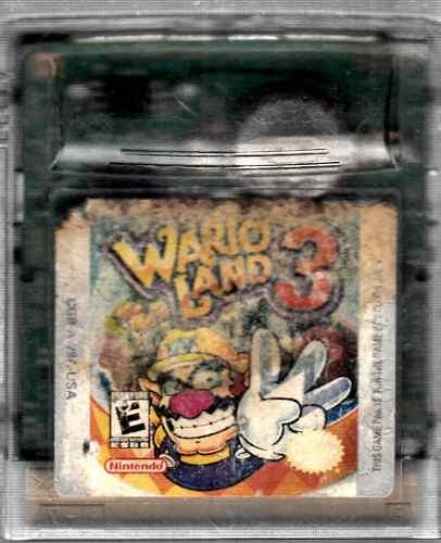 Video Juego De Game Boy Wario Land 3