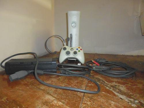 Xbox 360 Go Pro 60 Gb Totalmente En Funcionamiento Con Un Co